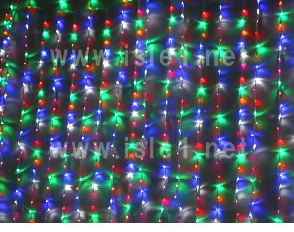 新LED400球ナイアガライルミネーション(4色MIX)4個セット