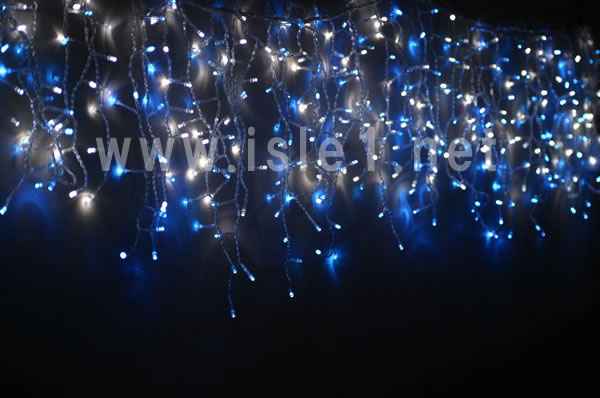 売切れ LED486球 ツラライルミネーション(青白MIX)