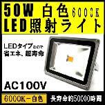 LED照射ライト50W(白色)