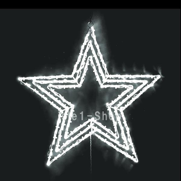 LEDトップスター(点滅コントローラ付)ホワイト