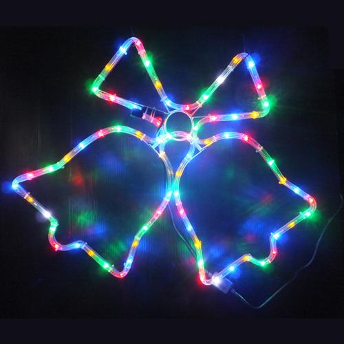 (終了)LEDモチーフ ジングルベル(ミックスカラー)